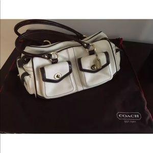 Coach purse duffle with dust bag